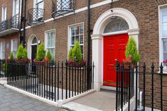 London residential architecture Royalty Free Stock Images