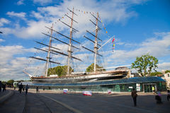 London, restored Cutty Sark Royalty Free Stock Photo