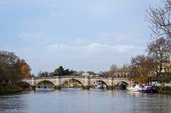 London, Richmond Bridge Royalty Free Stock Photo