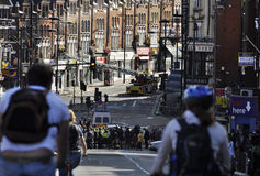 London riots aftermath, Clapham Junction Stock Photography