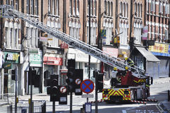 London riots aftermath, Clapham Junction Royalty Free Stock Photos