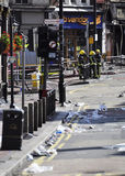 London riots aftermath, Clapham Junction Stock Image