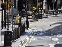 London riots aftermath, Clapham Junction Royalty Free Stock Image