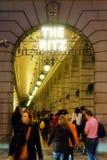 London Ritz Hotel at Night Stock Photo