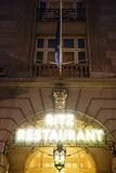 London Ritz Hotel at Night Stock Photos