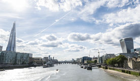 London River Bank Stock Photography
