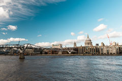 London river or the River Thames in London Royalty Free Stock Photography