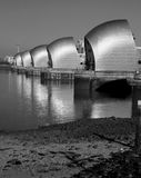 London River Thames barrier Stock Images