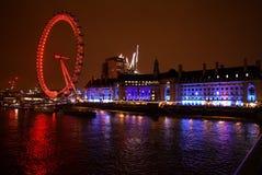 London river tourism. London river night background UK Londres stock image