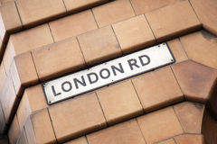 London Road Street Sign Royalty Free Stock Photography