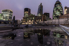 London rooftops Stock Photography