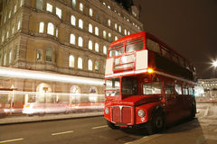 London Route Master Bus Royalty Free Stock Images