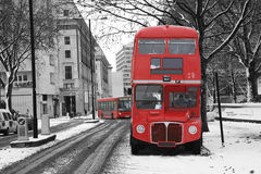 London Route Master Bus Stock Images