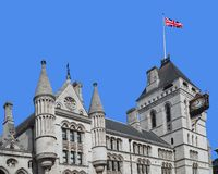 London, Royal Courts of Justice Stock Photo