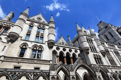 London Royal Courts Stock Image