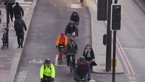 london ruch drogowy zbiory wideo