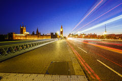 london ruchu Zdjęcie Royalty Free