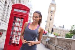 London runner Royalty Free Stock Photo