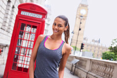London runner Royalty Free Stock Photography