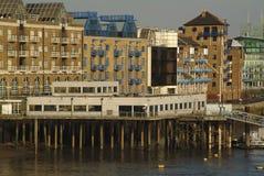 London rzeka Tamiza anglii obrazy royalty free