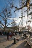 London söder packar ihop Arkivbild