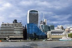 London& x27; s大厦 免版税库存照片