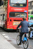 London's bicycle sharing scheme Royalty Free Stock Photography