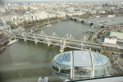 London's Bridges Royalty Free Stock Photography