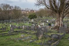 London`s Camberwell Cemetery royalty free stock photo