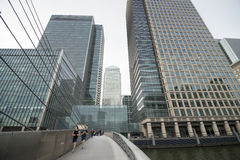 London's Canary Wharf  Stock Image