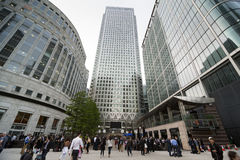 London's Canary Wharf  Stock Photo