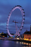 London's Eye Stock Photo