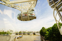 London's eyes capsule Royalty Free Stock Image