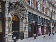 London-` s finanzielldistric lizenzfreie stockfotografie