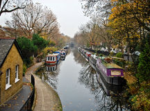 London's Little Venice Stock Photo
