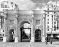 London-` s Marmor-Bogenmonument Lizenzfreie Stockfotos