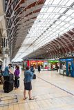 London`s Paddington Station stock photo