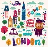 London's symbols Stock Images