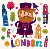 London's symbols Royalty Free Stock Images