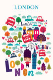 London's symbols Stock Photo