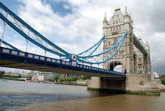 London's Tower bridge. Tower bridge from the Thames royalty free stock images