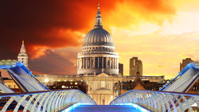 London - Saint Paul's Cathedral Royalty Free Stock Image