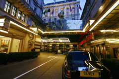 London Savoy Hotel Stock Image