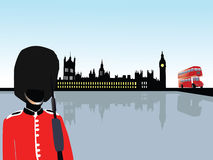 London scenery vector Stock Photography