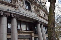 London School of Economics en Politicologie - LSE - LONDEN ENGELAND - LONDEN, het UK - 17 Oktober, 2017 stock foto
