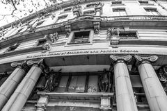 London School of Economics en Politicologie - LSE - LONDEN - GROOT-BRITTANNIË - SEPTEMBER 19, 2016 royalty-vrije stock afbeeldingen