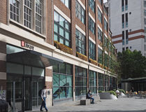 London School of Economics. LONDON - SEPTEMBER 2016: In keeping with its utilitarian tradition, the London School of Economics occupies buildings of modest stock images