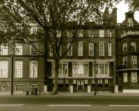 London-Schwan-Haus auf Chelsea Embankment Lizenzfreies Stockfoto