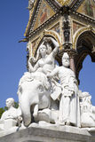London - sculpture of Asia - Albert memorial Royalty Free Stock Photography