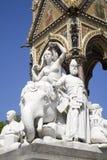 London - sculpture of Asia - Albert memorial Royalty Free Stock Photography